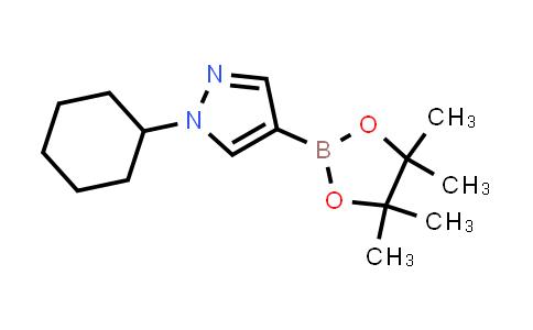 1-cyclohexyl-4-(4,4,5,5-tetramethyl-1,3,2-dioxaborolan-2-yl)-1H-pyrazole