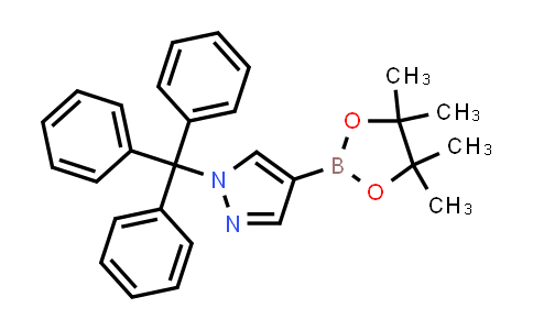 4-(4,4,5,5-tetramethyl-1,3,2-dioxaborolan-2-yl)-1-trityl-1H-pyrazole