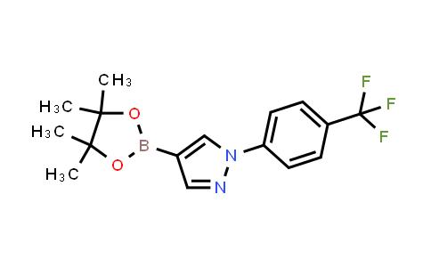 4-(4,4,5,5-tetramethyl-1,3,2-dioxaborolan-2-yl)-1-(4-(trifluoromethyl)phenyl)-1H-pyrazole
