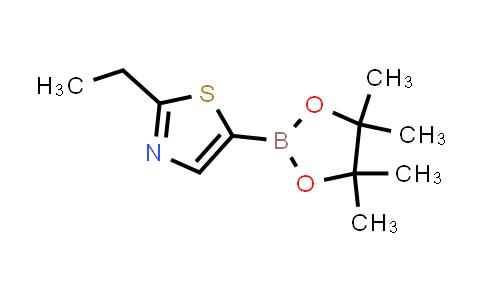 2-ethyl-5-(4,4,5,5-tetramethyl-1,3,2-dioxaborolan-2-yl)thiazole