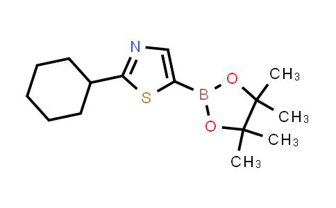 BP24438 | 1402166-60-2 | 2-cyclohexyl-5-(4,4,5,5-tetramethyl-1,3,2-dioxaborolan-2-yl)thiazole