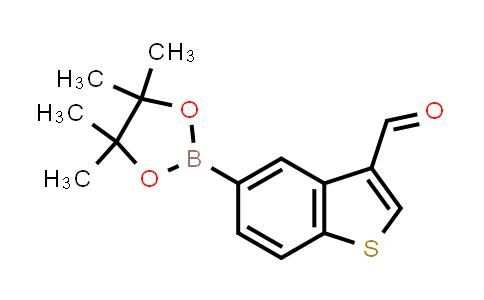 BP24443 | 1008361-79-2 | 5-(4,4,5,5-tetramethyl-1,3,2-dioxaborolan-2-yl)benzo[b]thiophene-3-carbaldehyde
