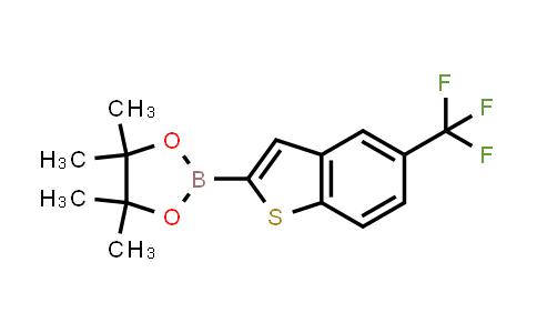 4,4,5,5-tetramethyl-2-(5-(trifluoromethyl)benzo[b]thiophen-2-yl)-1,3,2-dioxaborolane