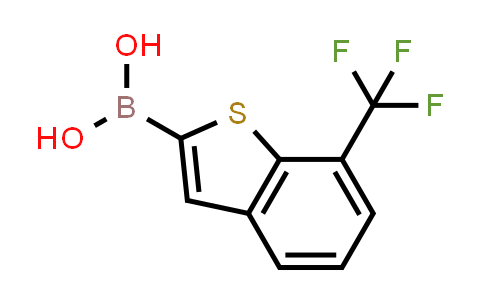 (7-(trifluoromethyl)benzo[b]thiophen-2-yl)boronic acid