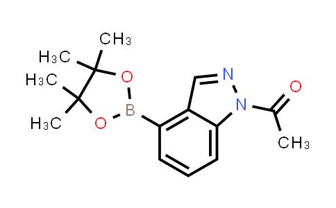 1-(4-(4,4,5,5-tetramethyl-1,3,2-dioxaborolan-2-yl)-1H-indazol-1-yl)ethanone