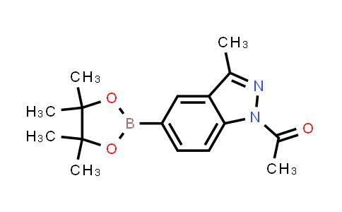 BP24456 | 1158680-97-7 | 1-(3-methyl-5-(4,4,5,5-tetramethyl-1,3,2-dioxaborolan-2-yl)-1H-indazol-1-yl)ethanone
