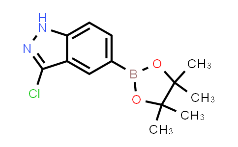 3-chloro-5-(4,4,5,5-tetramethyl-1,3,2-dioxaborolan-2-yl)-1H-indazole