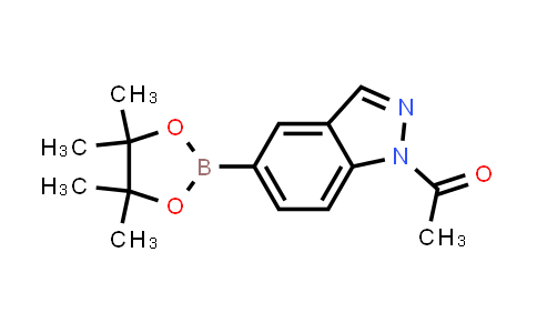 1-(5-(4,4,5,5-tetramethyl-1,3,2-dioxaborolan-2-yl)-1H-indazol-1-yl)ethanone