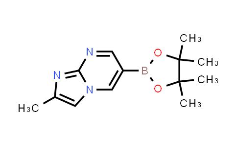 2-methyl-6-(4,4,5,5-tetramethyl-1,3,2-dioxaborolan-2-yl)imidazo[1,2-a]pyrimidine