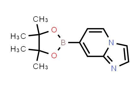 7-(4,4,5,5-tetramethyl-1,3,2-dioxaborolan-2-yl)imidazo[1,2-a]pyridine