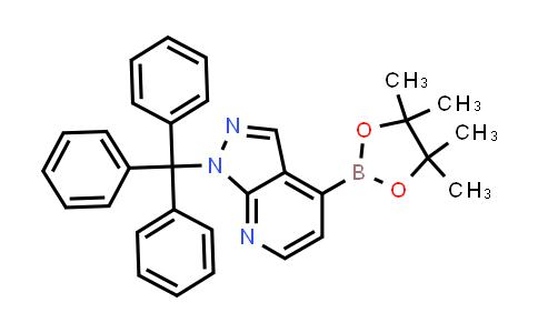 BP24462 | 1160502-13-5 | 4-(4,4,5,5-tetramethyl-1,3,2-dioxaborolan-2-yl)-1-trityl-1H-pyrazolo[3,4-b]pyridine