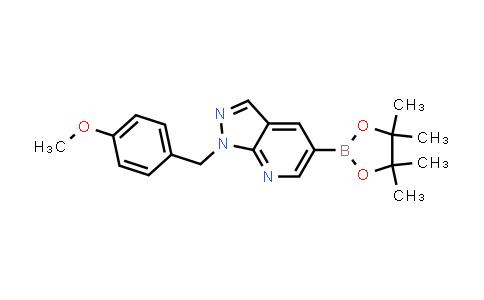 BP24463 | 1111638-36-8 | 1-(4-methoxybenzyl)-5-(4,4,5,5-tetramethyl-1,3,2-dioxaborolan-2-yl)-1H-pyrazolo[3,4-b]pyridine