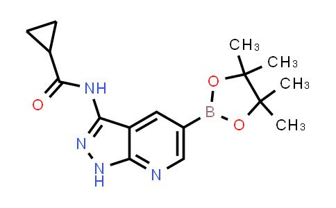 BP24466 | 405224-26-2 | N-(5-(4,4,5,5-tetramethyl-1,3,2-dioxaborolan-2-yl)-1H-pyrazolo[3,4-b]pyridin-3-yl)cyclopropanecarboxamide