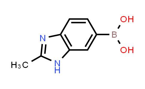 (2-methyl-1H-benzo[d]imidazol-6-yl)boronic acid
