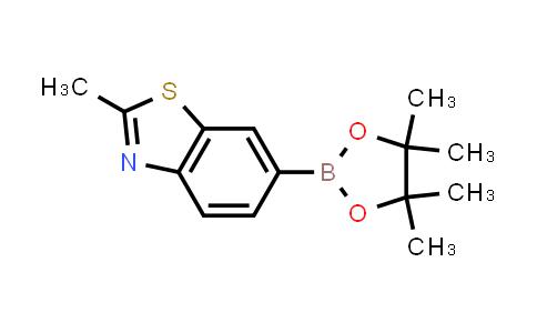 2-methyl-6-(4,4,5,5-tetramethyl-1,3,2-dioxaborolan-2-yl)benzo[d]thiazole