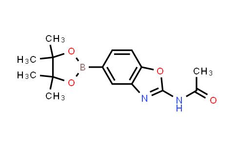 N-(5-(4,4,5,5-tetramethyl-1,3,2-dioxaborolan-2-yl)benzo[d]oxazol-2-yl)acetamide
