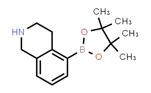 5-(4,4,5,5-tetramethyl-1,3,2-dioxaborolan-2-yl)-1,2,3,4-tetrahydroisoquinoline