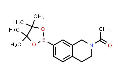 1-(7-(4,4,5,5-tetramethyl-1,3,2-dioxaborolan-2-yl)-3,4-dihydroisoquinolin-2(1H)-yl)ethanone