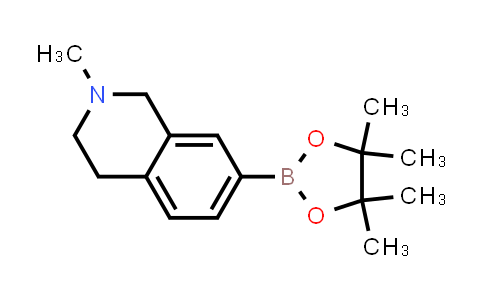 2-methyl-7-(4,4,5,5-tetramethyl-1,3,2-dioxaborolan-2-yl)-1,2,3,4-tetrahydroisoquinoline