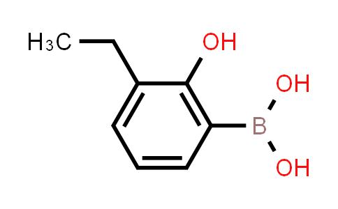 (3-ethyl-2-hydroxyphenyl)boronic acid