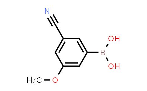 (3-cyano-5-methoxyphenyl)boronic acid