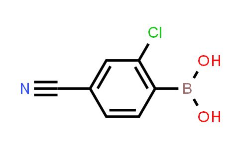 (2-chloro-4-cyanophenyl)boronic acid