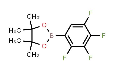 4,4,5,5-tetramethyl-2-(2,3,4,5-tetrafluorophenyl)-1,3,2-dioxaborolane