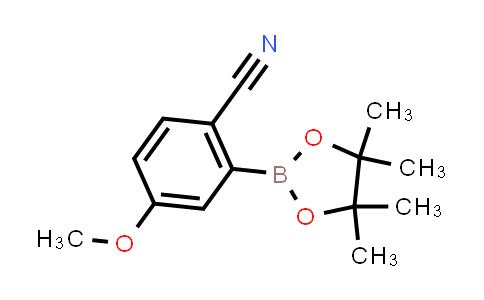BP24502 | 863868-23-9 | 4-methoxy-2-(4,4,5,5-tetramethyl-1,3,2-dioxaborolan-2-yl)benzonitrile