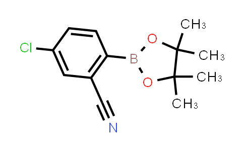 5-chloro-2-(4,4,5,5-tetramethyl-1,3,2-dioxaborolan-2-yl)benzonitrile