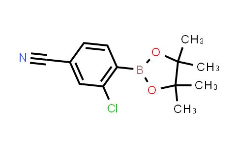 3-chloro-4-(4,4,5,5-tetramethyl-1,3,2-dioxaborolan-2-yl)benzonitrile