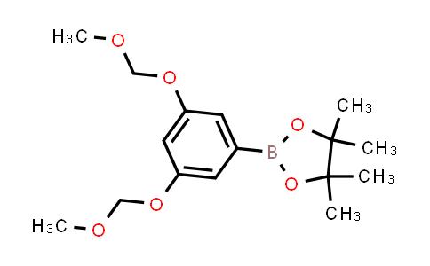2-(3,5-bis(methoxymethoxy)phenyl)-4,4,5,5-tetramethyl-1,3,2-dioxaborolane