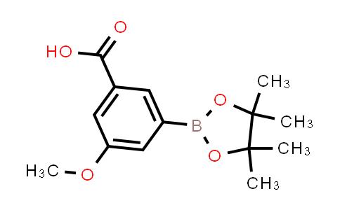 BP24510 | 936728-20-0 | 3-methoxy-5-(4,4,5,5-tetramethyl-1,3,2-dioxaborolan-2-yl)benzoic acid