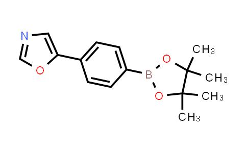 5-(4-(4,4,5,5-tetramethyl-1,3,2-dioxaborolan-2-yl)phenyl)oxazole