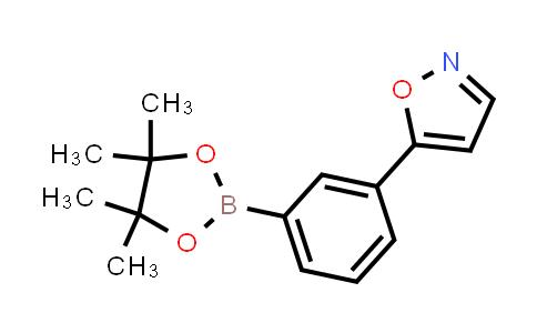 BP24513 | 1403469-17-9 | 5-(3-(4,4,5,5-tetramethyl-1,3,2-dioxaborolan-2-yl)phenyl)isoxazole