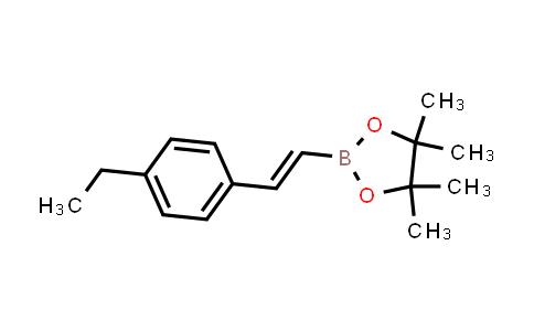 BP24514 | 870717-91-2 | (E)-2-(4-ethylstyryl)-4,4,5,5-tetramethyl-1,3,2-dioxaborolane