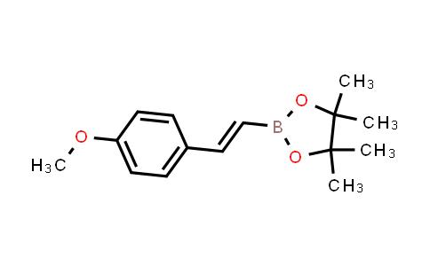 (E)-2-(4-methoxystyryl)-4,4,5,5-tetramethyl-1,3,2-dioxaborolane