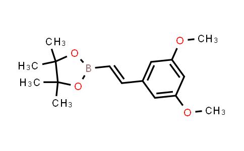 (E)-2-(3,5-dimethoxystyryl)-4,4,5,5-tetramethyl-1,3,2-dioxaborolane