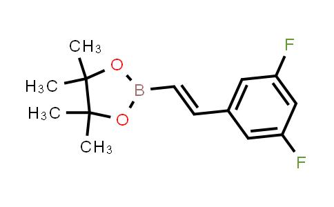 (E)-2-(3,5-difluorostyryl)-4,4,5,5-tetramethyl-1,3,2-dioxaborolane