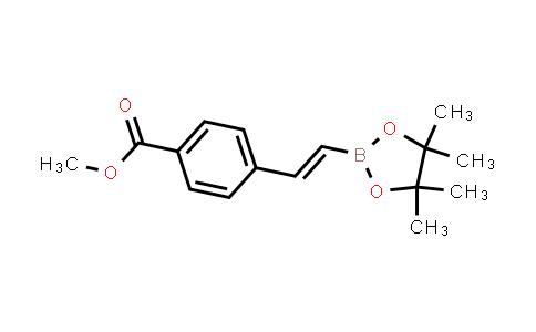 BP24525 | 223919-55-9 | (E)-methyl 4-(2-(4,4,5,5-tetramethyl-1,3,2-dioxaborolan-2-yl)vinyl)benzoate