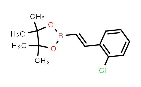 BP24531   1355094-04-0   (E)-2-(2-chlorostyryl)-4,4,5,5-tetramethyl-1,3,2-dioxaborolane