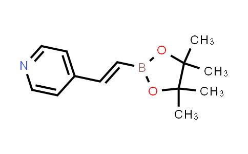 BP24535 | 1015243-13-6 | (E)-4-(2-(4,4,5,5-tetramethyl-1,3,2-dioxaborolan-2-yl)vinyl)pyridine