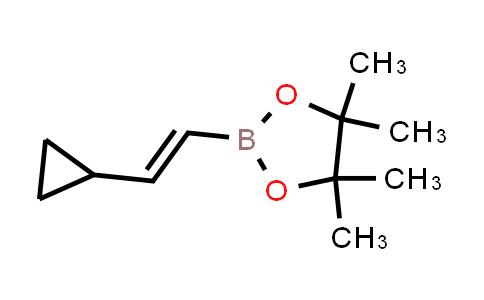 (E)-2-(2-cyclopropylvinyl)-4,4,5,5-tetramethyl-1,3,2-dioxaborolane