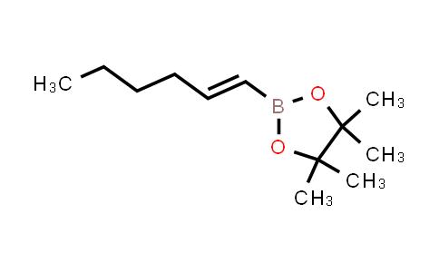 (E)-2-(hex-1-en-1-yl)-4,4,5,5-tetramethyl-1,3,2-dioxaborolane