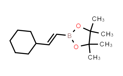 (E)-2-(2-cyclohexylvinyl)-4,4,5,5-tetramethyl-1,3,2-dioxaborolane