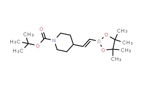 (E)-tert-butyl 4-(2-(4,4,5,5-tetramethyl-1,3,2-dioxaborolan-2-yl)vinyl)piperidine-1-carboxylate