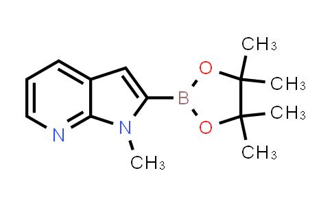 BP24551 | 912331-71-6 | 1-methyl-2-(4,4,5,5-tetramethyl-1,3,2-dioxaborolan-2-yl)-1H-pyrrolo[2,3-b]pyridine