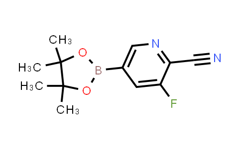 3-fluoro-5-(4,4,5,5-tetramethyl-1,3,2-dioxaborolan-2-yl)picolinonitrile