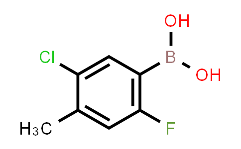 5-chloro-2-fluoro-4-methylphenylboronic acid