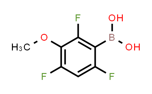 2,4,6-trifluoro-3-methoxyphenylboronic acid