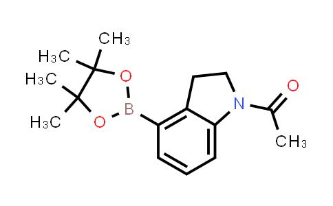 BP24562 | 937591-97-4 | 1-(4-(4,4,5,5-tetramethyl-1,3,2-dioxaborolan-2-yl)indolin-1-yl)ethanone